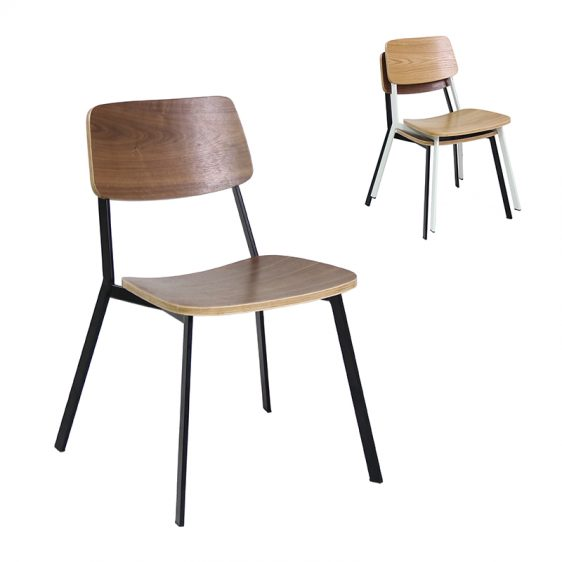 Outstanding Stackable Modern Design Bent Plywood Steel Chair For Coffee Ibusinesslaw Wood Chair Design Ideas Ibusinesslaworg