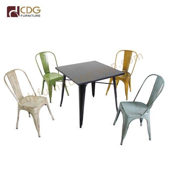5a3a22969911 Industrial Heavy Duty Aluminium Garden Outdoor Patio Bristo Table And Chair  ...