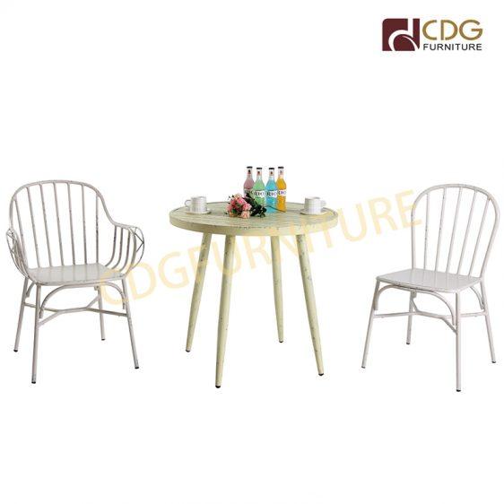 Factory Best Price Outdoor Bistro Vintage Antique Chairs