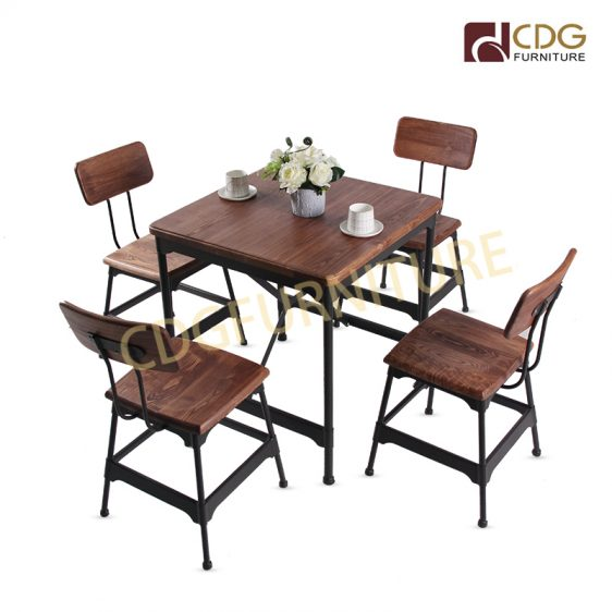 Commercial Furniture Wood Dining Table