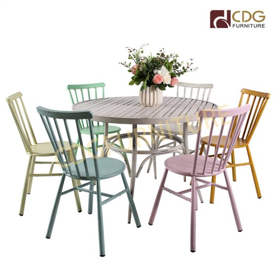 Round Dining Table Furniture Outdoor