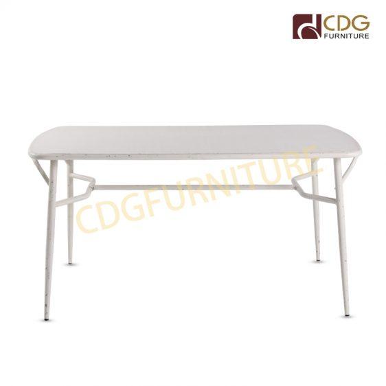 Modern European Marble Top Bistro Table