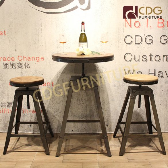 Astonishing Long Tall Bar Table And Chairs Manufacturer Cdg Furniture Spiritservingveterans Wood Chair Design Ideas Spiritservingveteransorg